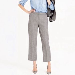 J.Crew Wool Patio Pants in Mini Dot Womens Size 4